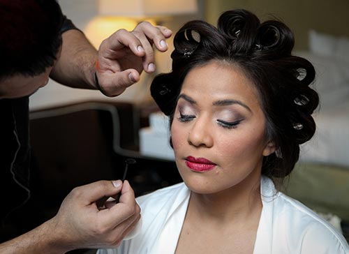 Las Vegas Wedding Hair and Makeup