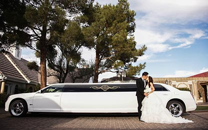 Elvis Weddings in Vegas with Limo