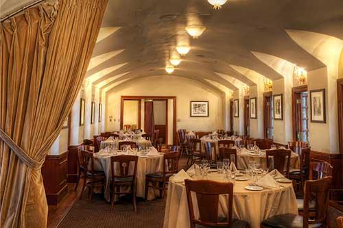Intimate Italian Wedding Reception Chapel Of The Flowers