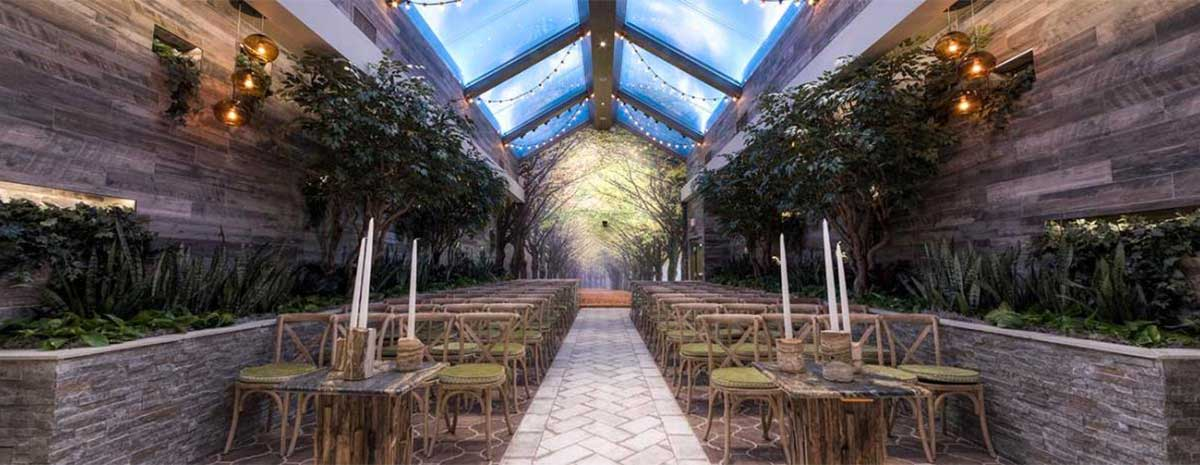 Glass Gardens Wedding Chapel In Las Vegas Chapel Of The Flowers